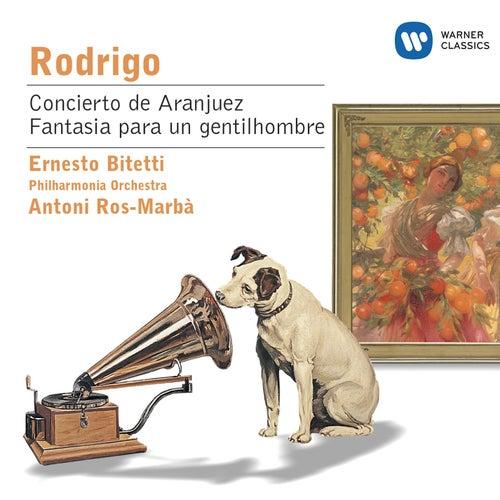 Rodrigo: Concierto de Aranjuez; Fantasia para un gentilhombre etc. von ERNESTO BITETTI