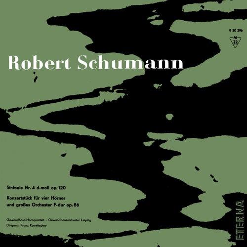 Schumann: Sinfonie No. 4 & Konzertstück F-Dur de Gewandhausorchester Leipzig