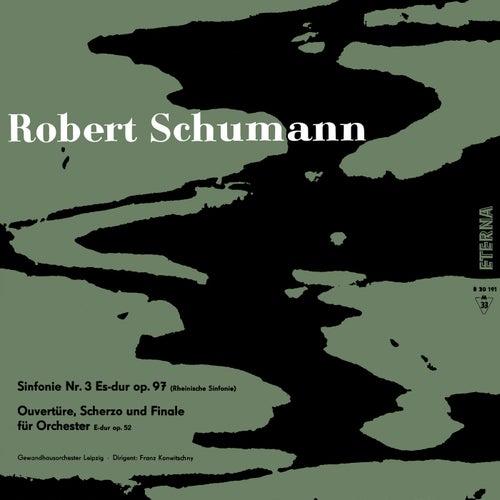 Schumann: Sinfonie No. 3 - Ouvertüre, Scherzo & Finale, Op. 52 de Gewandhausorchester Leipzig