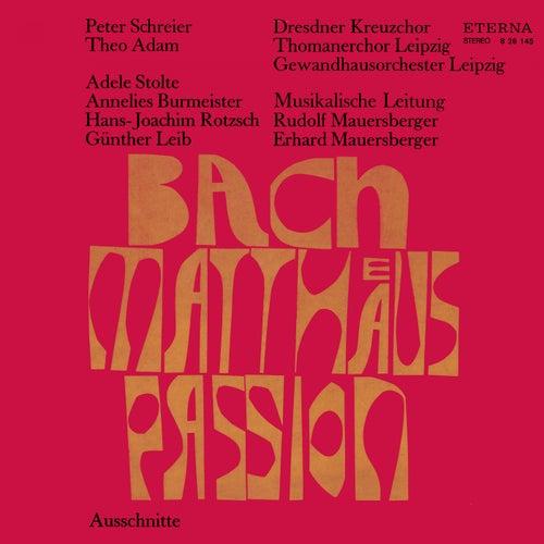 Bach: Matthäus-Passion (Highlights) von Dresdner Kreuzchor