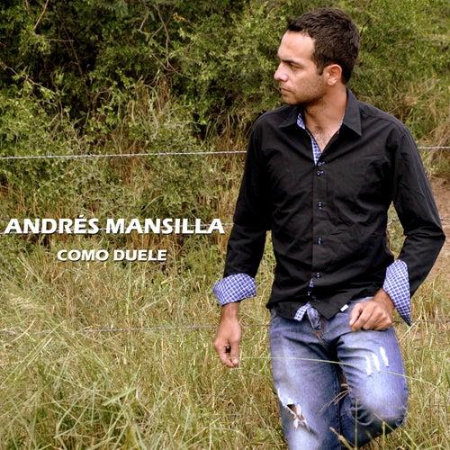 Como Duele de Andrés Mansilla