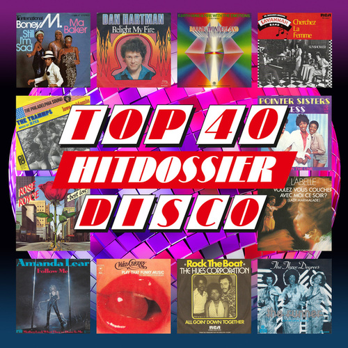 TOP 40 HITDOSSIER - Disco de Various Artists