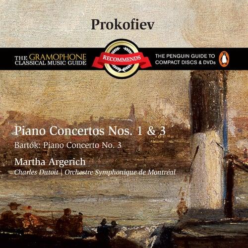 Prokofiev: Piano Concertos Nos. 1 & 3 von Martha Argerich