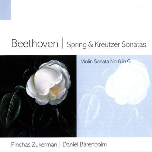Beethoven Spring & Kreutzer Sonatas de Daniel Barenboim