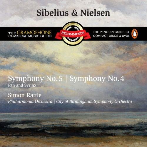 Sibelius: Symphony No.5 & Nielsen: Symphony No.4 di Sir Simon Rattle