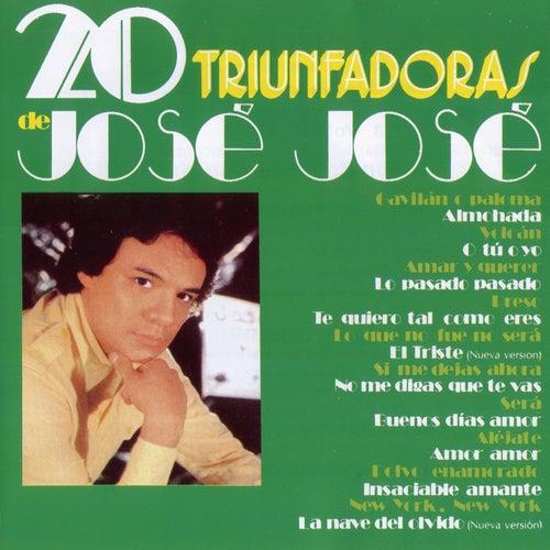20 Triunfadoras De Jose Jose de Jose Jose