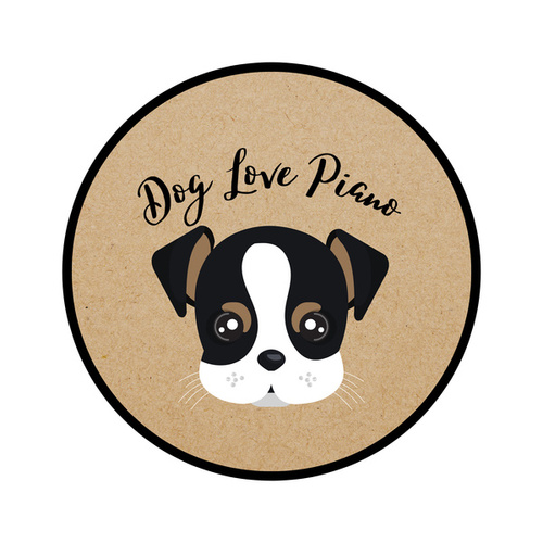Dog Love Piano by Pet Music Therapy