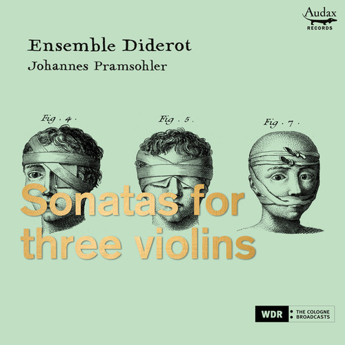 Sonatas for three violins by Ensemble Diderot