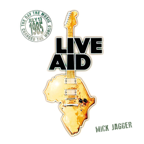 Mick Jagger at Live Aid (Live at John F. Kennedy Stadium, 13th July 1985) von Mick Jagger