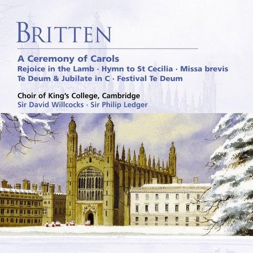Britten: A Ceremony of Carols etc de Choir of King's College, Cambridge