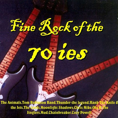 Fine Rock of the 70 ies de Various Artists