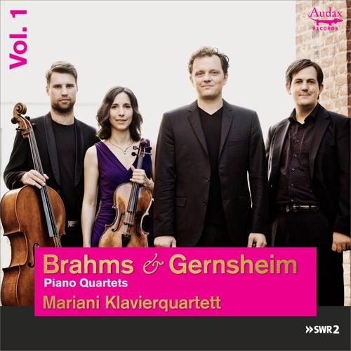 Brahms & Gernsheim: Piano Quartets by Mariani Klavierquartett