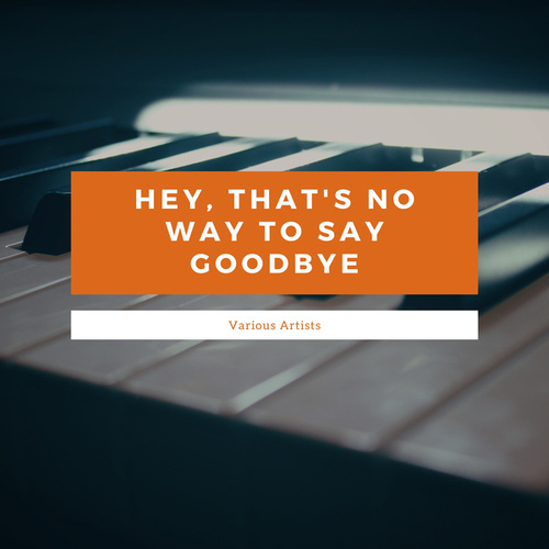 Hey, That's No Way To Say Goodbye von Various Artists