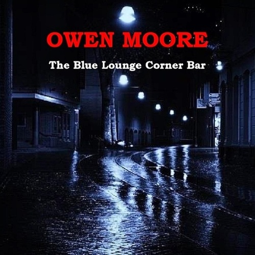 The Blue Lounge Corner Bar by Owen Moore