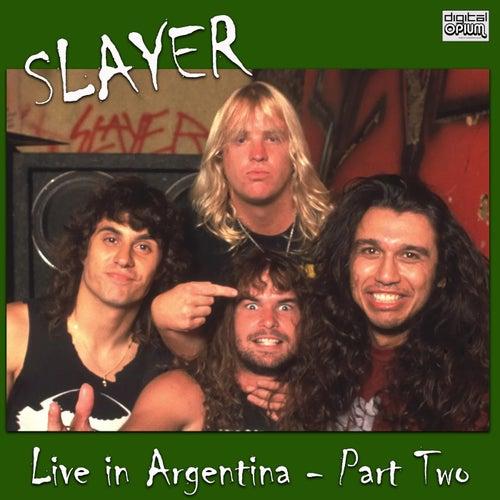 Live in Argentina - Part Two (Live) fra Slayer
