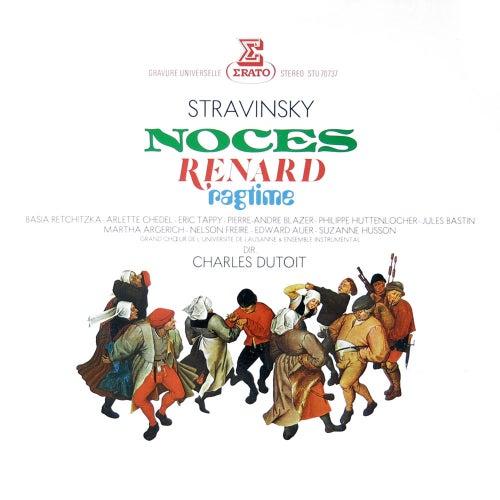 Stravinsky: Noces, Renard & Ragtime von Martha Argerich