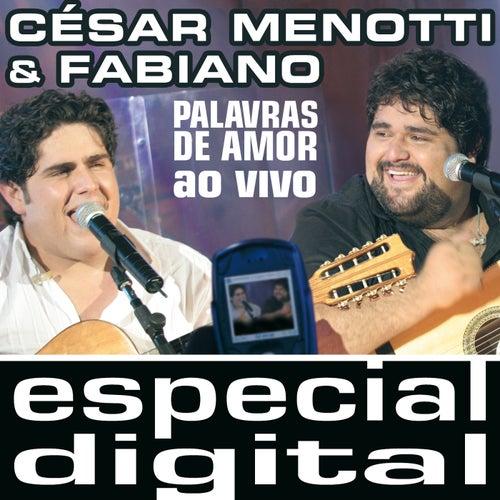 Palavras De Amor Ao Vivo von César Menotti & Fabiano