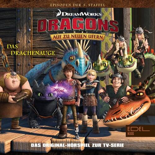 Folge 21: Das Drachenauge - Teil 1+2 (Das Original-Hörspiel zur TV-Serie) von Dragons - Auf zu neuen Ufern