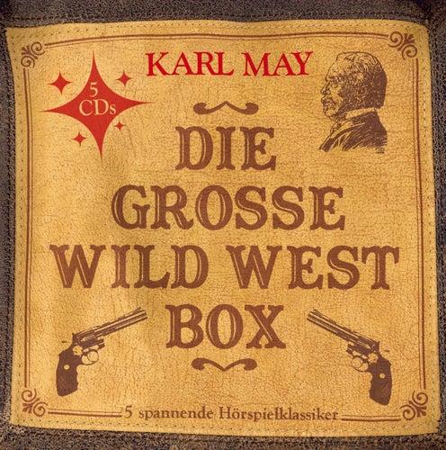 Die große Wild West Box (5  Hörspielklassiker) von Karl May