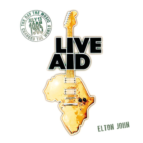 Elton John at Live Aid (Live at Wembley Stadium, 13th July 1985) von Elton John