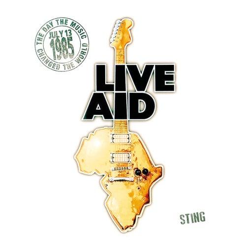Sting at Live Aid (Live at Wembley Stadium, 13th July 1985) von Sting