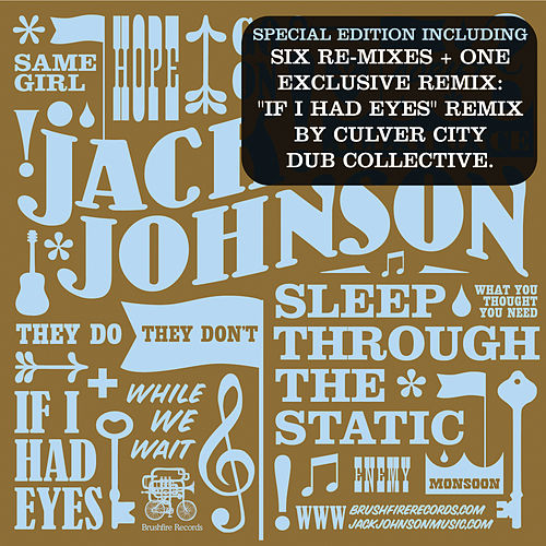 Sleep Through The Static Remixed By Jack Johnson Napster