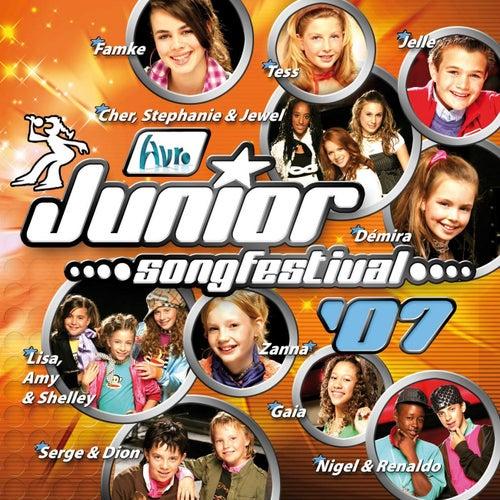Junior Songfestival 2007 de Finalisten Junior Songfestival