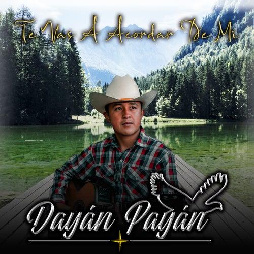 Te Vas A Acordar De Mi by Dayán Payán