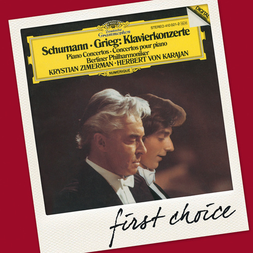 Schumann / Grieg: Piano Concertos by Krystian Zimerman
