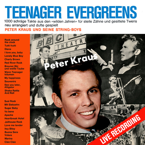 Teenager Evergreens von Peter Kraus