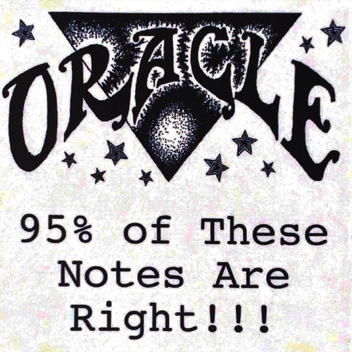 95% of These Notes Are Right by Oracle