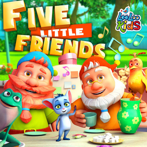 Five Little Friends by LooLoo Kids