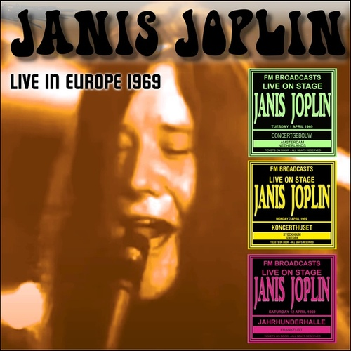 Live In Europe 1969 fra Janis Joplin