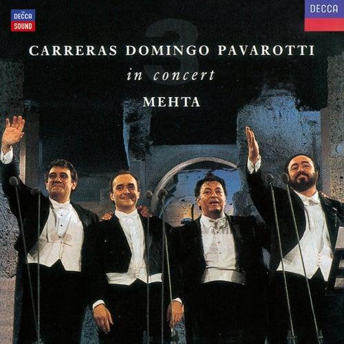 Carreras Domingo Pavarotti in Concert de Luciano Pavarotti