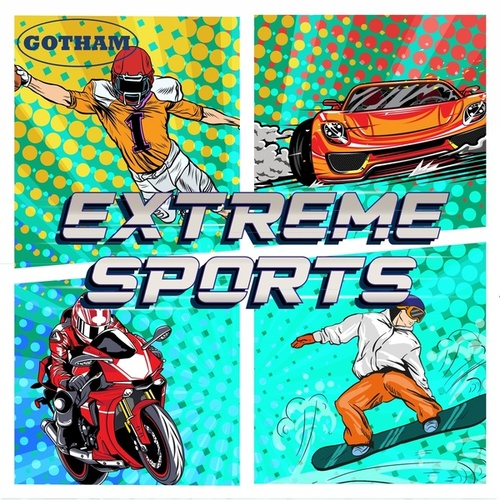 Extreme Sports by Emanuel Kallins