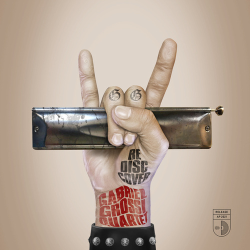 RE DISC COVER de Gabriel Grossi