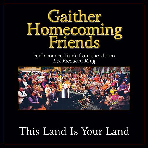 This Land Is Your Land Performance Tracks by Bill & Gloria Gaither