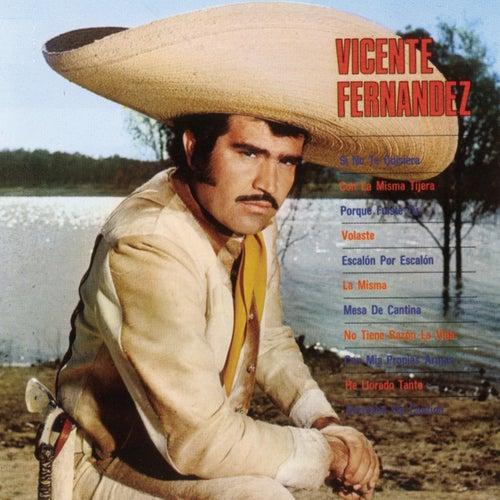 Si No Te Quisiera de Vicente Fernández