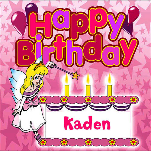 Happy Birthday Kaden von The Birthday Bunch