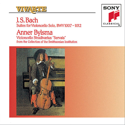 Bach: The 6 Unaccompanied Cello Suites, BWV 1007-1012 by Anner Bylsma