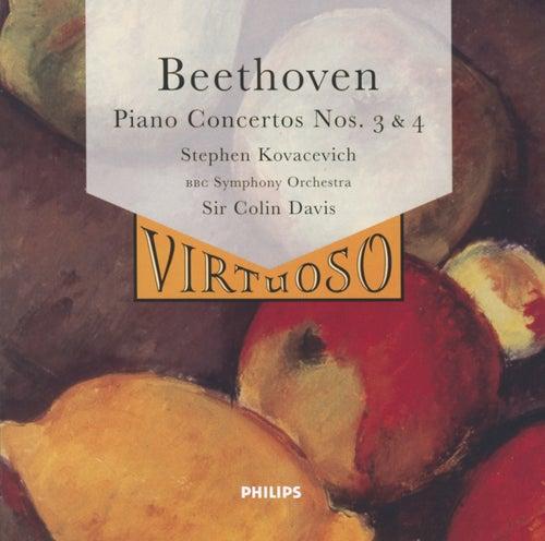 Beethoven: Piano Concertos Nos. 3 & 4 by Stephen Kovacevich