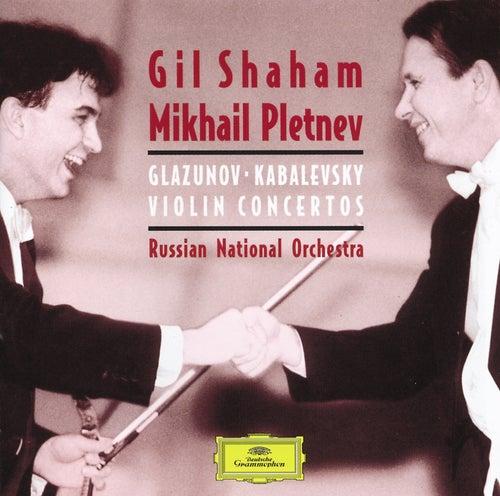 Kabalevsky:Violin Concerto/Glazunov: Violin Concerto/Tchaikovsky: Souvenir d'u lieu cher, &c. de Gil Shaham