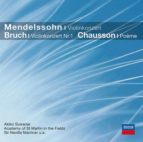 Mendelssohn, Bruch: Violinkonzerte (CC) von Akiko Suwanai