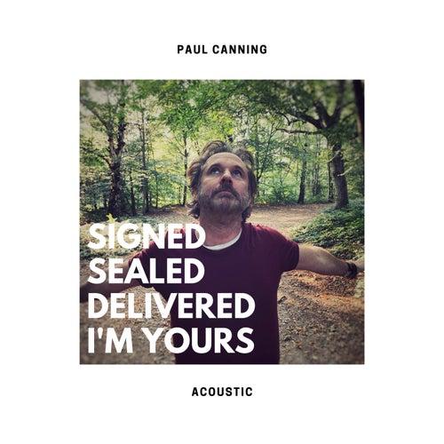 Signed Sealed Delivered (I'm Yours) (Acoustic) de Paul Canning