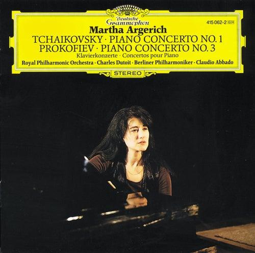 Tchaikovsky: Piano Concerto No.1 / Prokofiev: Piano Concerto No.3 by Martha Argerich