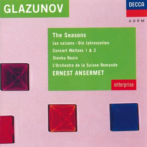 Glazunov: The Seasons; Two Concert Waltzes; Stenka Razin von L'Orchestre de la Suisse Romande