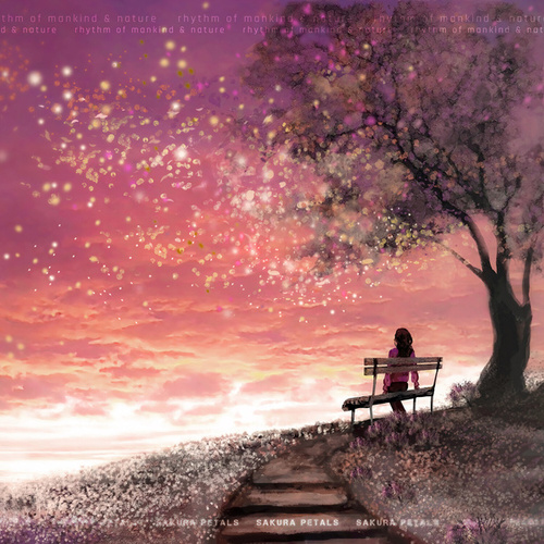Sakura Petals de Rhythm of Mankind And Nature