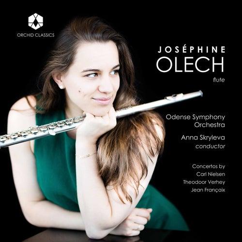 Nielsen, Verhey & Françaix: Flute Concertos by Joséphine Olech