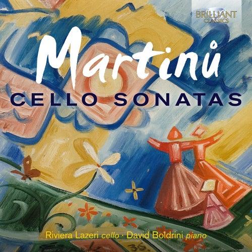 Martinu: Cello Sonatas van Boldrini David