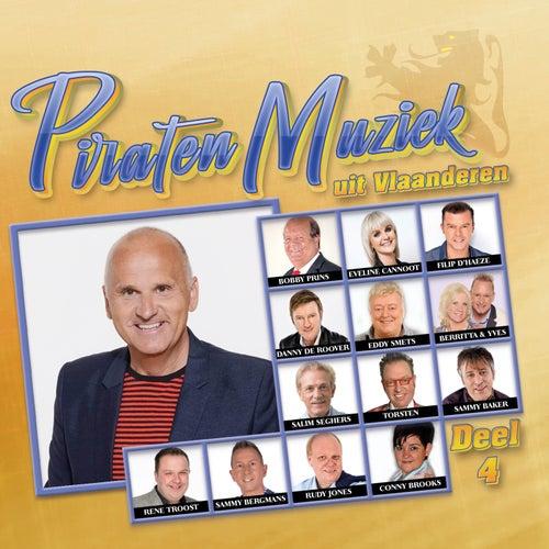 Piraten Muziek Uit Vlaanderen Deel 4 by Various Artists